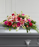 Splendid Grace Casket Spray